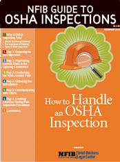 Small Business Guide to Handling OSHA Inspections
