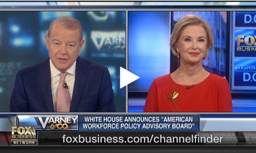 NFIB's Duggan Discusses Appointment to White House American Workforce Policy Advisory Board on Fox Business