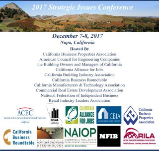 You're Invited: Strategic Issues Conference 12/7-12/8 (Napa, CA)