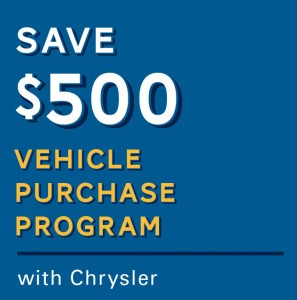 NFIB members save on Chrysler vehicles