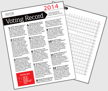 Download the small business voting record for 2014